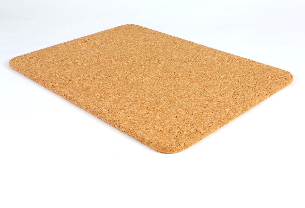 Cork Bath Mat - Rectangular - 600 x 450 x 13mm Pure Tree