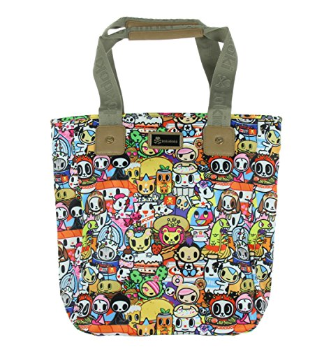 Tokidoki Foodie Characters Travel Shopper Shoulder Tote Bag