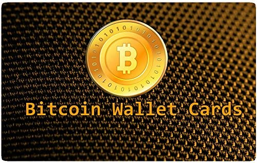 Bitcoin hardware Wallet Card * Cold Storage, tarjeta de ...