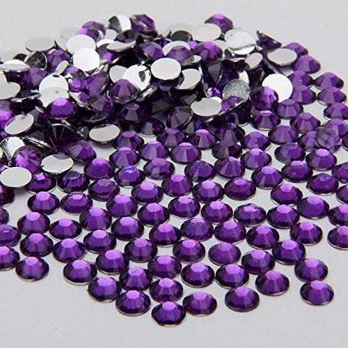 2000-crystal-silver-flat-back-acrylic-rhinestones-gems-diamante-2-mm-dark-purple-color