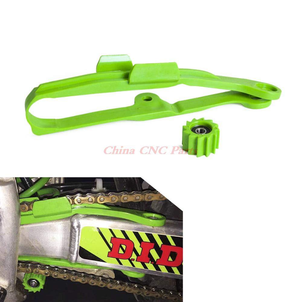 Motorcycle Chain Swingarm Chain Guide Slider Roller for Kawasaki KX250F KX450F KXF 250 450 2009-2019 KLX450 2011-2019 Black