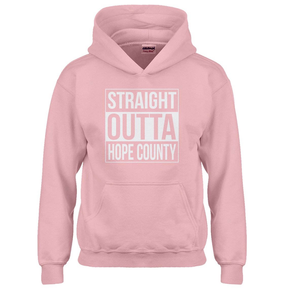 Indica Plateau Youth Straight Outta Hope County Kids Hoodie 3422-Z