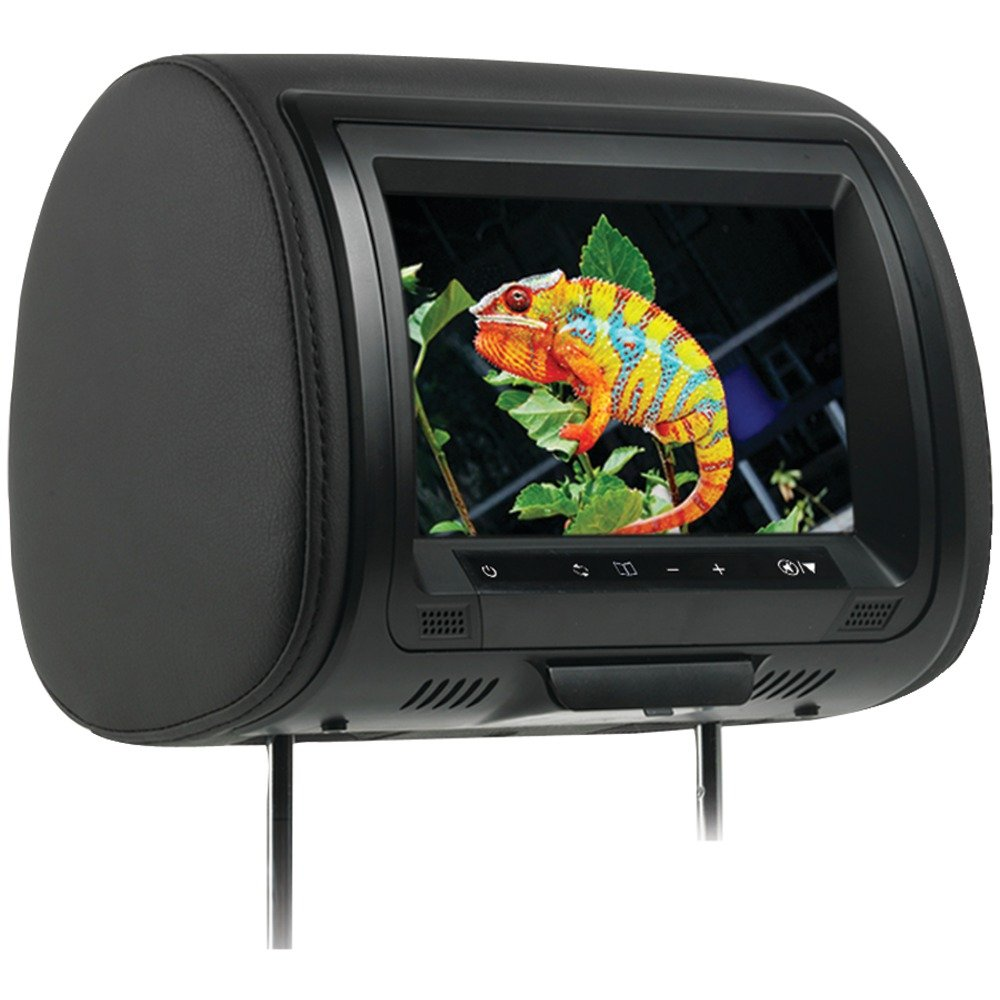 CONCEPT CLD-903 9-Inch CHAMELEON HEADREST WITH HD INPUT, BUILT-IN DVD PLAYER, TOUCH BUTTONS & HIGH AUDIO OUTPUT