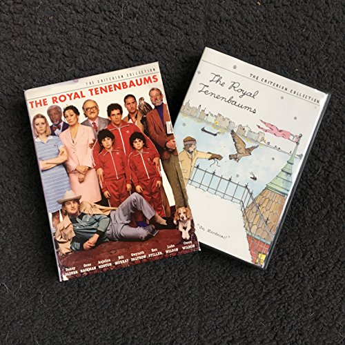 The Royal Tenenbaums (Criterion Collection / DVD / 2 DISC / WS 2.40 Anamorphic) Gene Hackman; Anjelica Huston; Gwyneth Paltrow; Ben Stiller; Luke Wilson; Owen Wilson; Danny Glover; Bill Murray; Seymour Cassel; Kumar Pallana