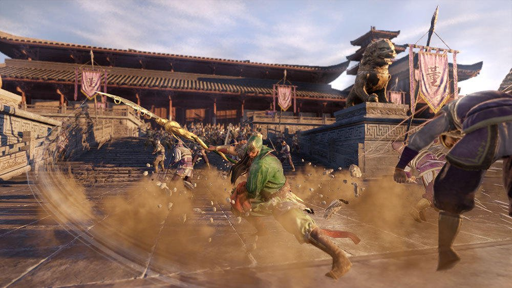 Dynasty Warriors 9 Weapons