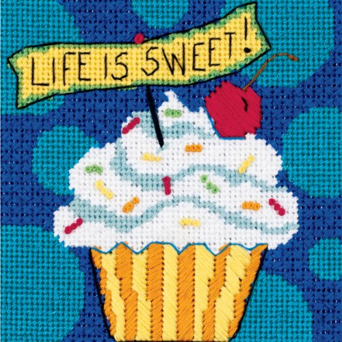 Life Needlepoint Kit (Dimensions Needlecrafts Needlepoint, Life Is Sweet)