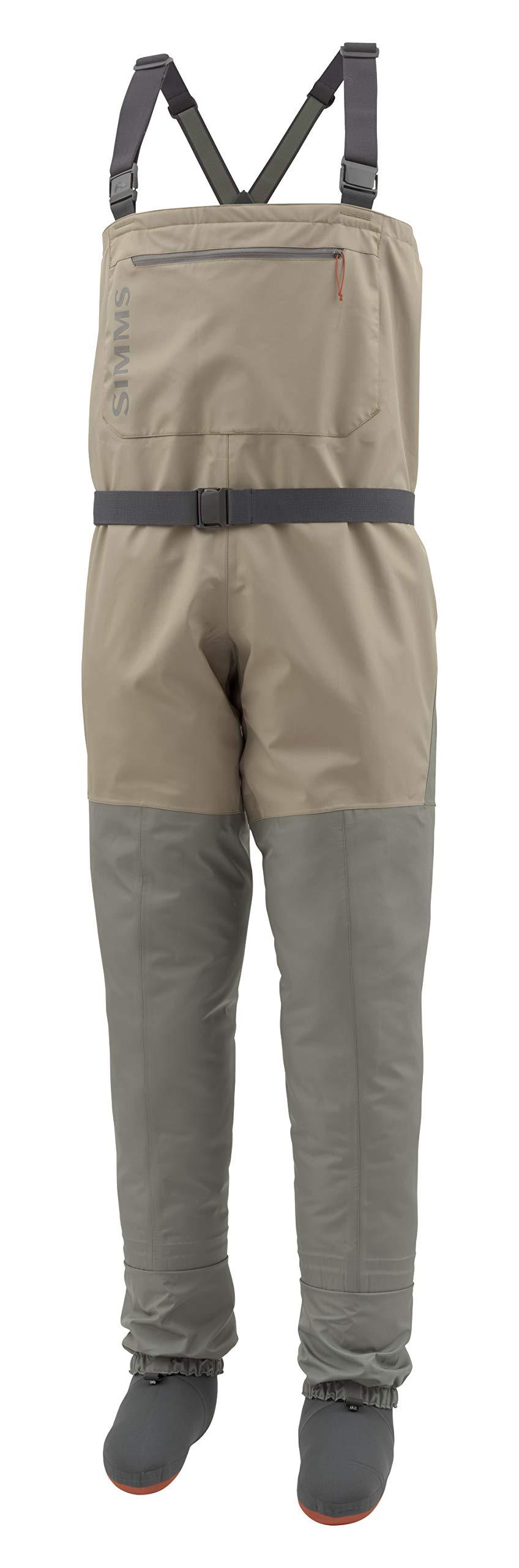 Simms Tributary Stockingfoot Waders, Men's Fly Fishing Chest Waders, Durable, Breathable, Neoprene, Waterproof