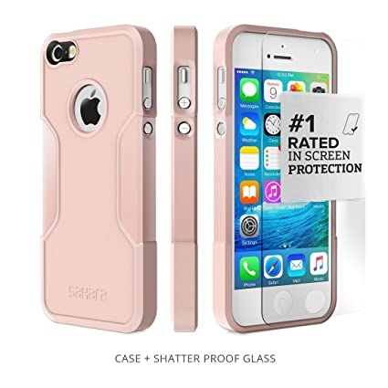 IPhone SE Case For 5s 5 Rose Gold SaharaCase Protective Kit