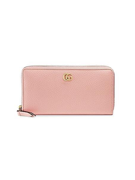 Gucci Portafoglio Donna 456117CAO0G5909 Pelle Rosa  Amazon.it  Abbigliamento 3d233263c583
