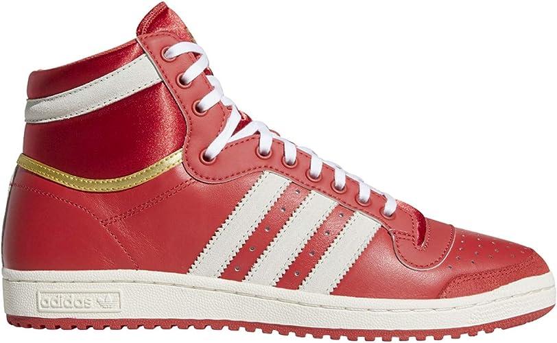 Adidas Top Ten High - White / Navy-red