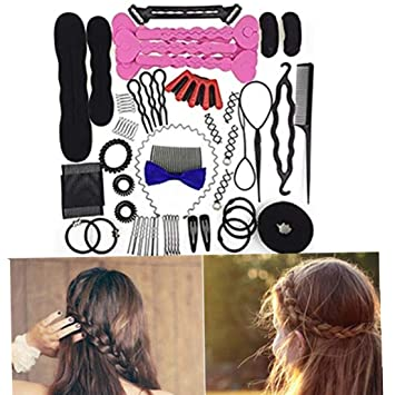 Amazon Hair Styling Accessories Kit Set For Diy Fashion Hair