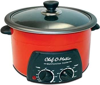 Chef o Matic VHGMNCIND0014 Multifuncion Cooker 5l, rojo: Amazon.es: Hogar