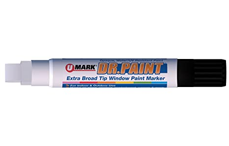 PAINT MARKER RED 2.2 MM  Large Tip Oil Based Permanent Industrial