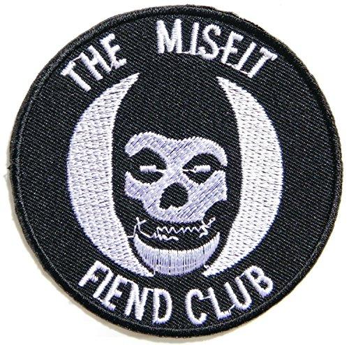 THE MISFIT FIEND CLUB Heavy Metal Punk Rock Music Band Logo