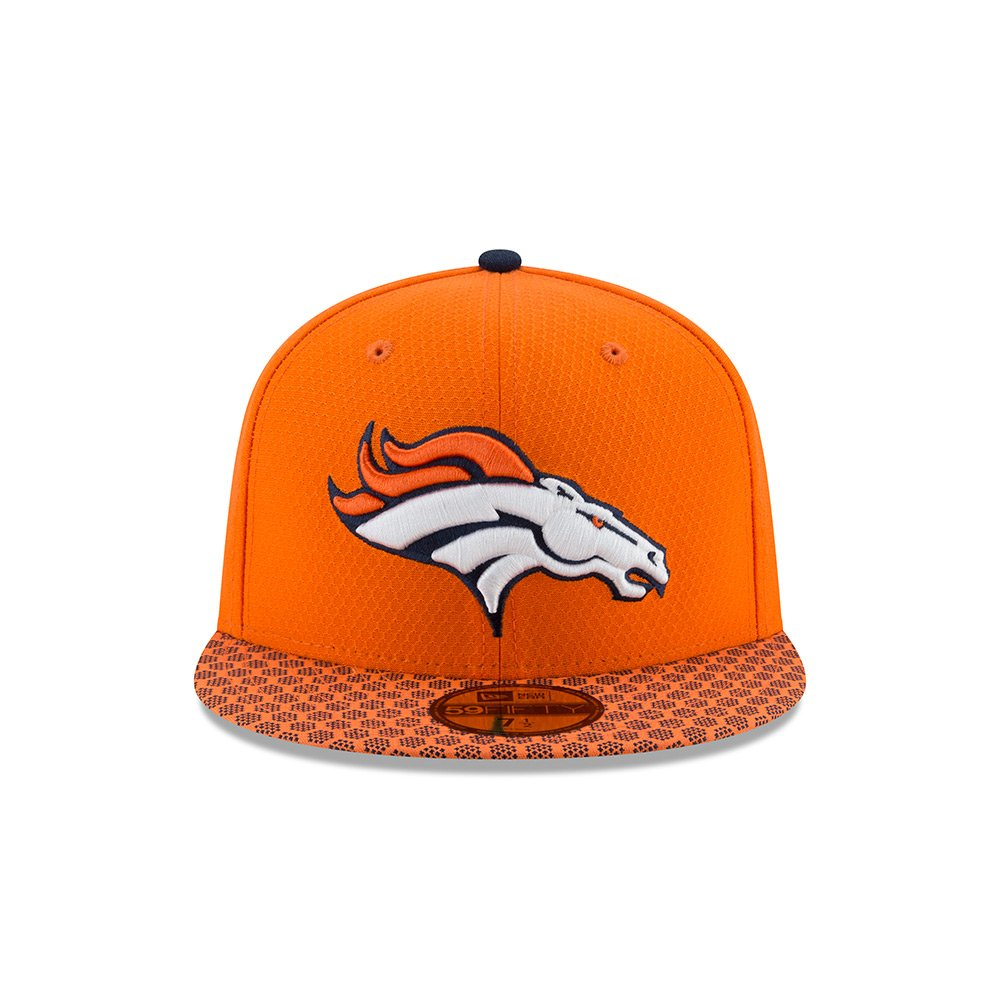 New Era Mens Denver Broncos 2017 Official NFL Sideline 3930 Cap