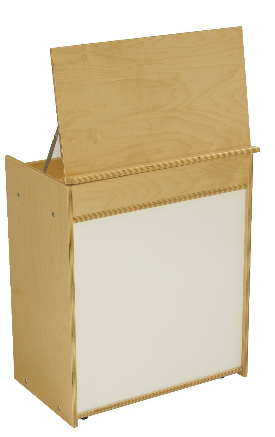Childcraft 1526576 ABC Furnishings Language Center, 30.25'' Height, 14.5'' Width, 23.75'' Length, Natural Wood