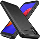 Osophter for Galaxy A01 Core Case,Galaxy M01 Core Case Shock-Absorption Flexible TPU Rubber Protective Cell Phone Cover for S