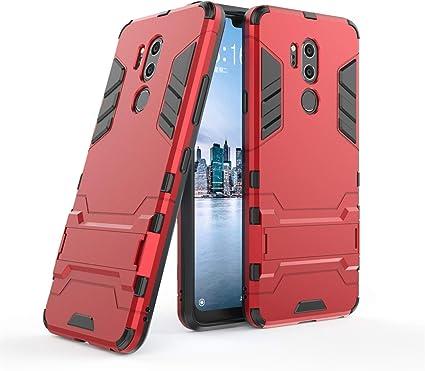 LXHGrowH Funda LG G7 ThinQ, Fundas 2in1 Dual Layer Anti-Shock 360 ...