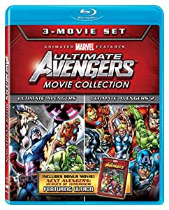 Ultimate Avengers Collection 3-Movie Set [Blu-ray]