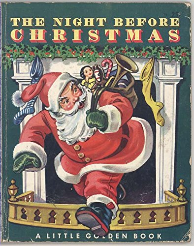 The Night Before Christmas Little Golden Book 1949 (first edition)