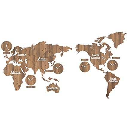 Amazon 220x115cm diy medium world map clock personalized 220x115cm diy medium world map clock personalized office wall clock living room mute table gumiabroncs Choice Image