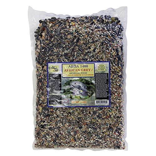 (ABBA 1400 Bird Foods African Grey/ Senegal Food 5lbs)