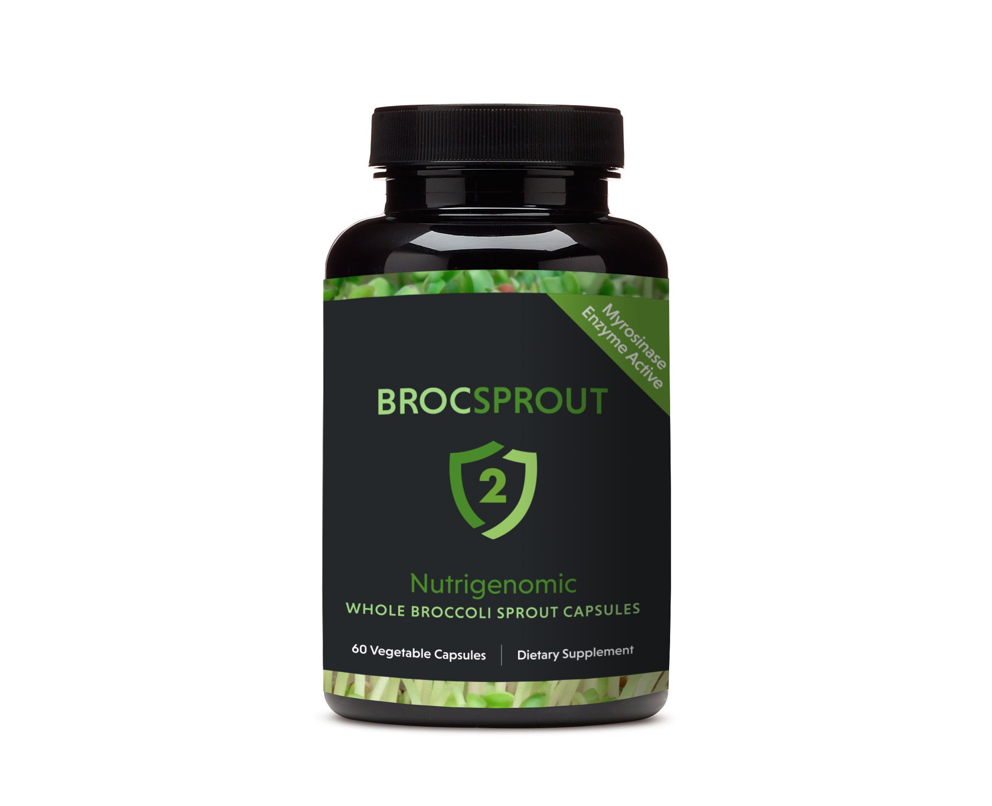 BROC SPROUT 2 - Whole Broccoli Sprout Capsules by BROC SPROUT 2