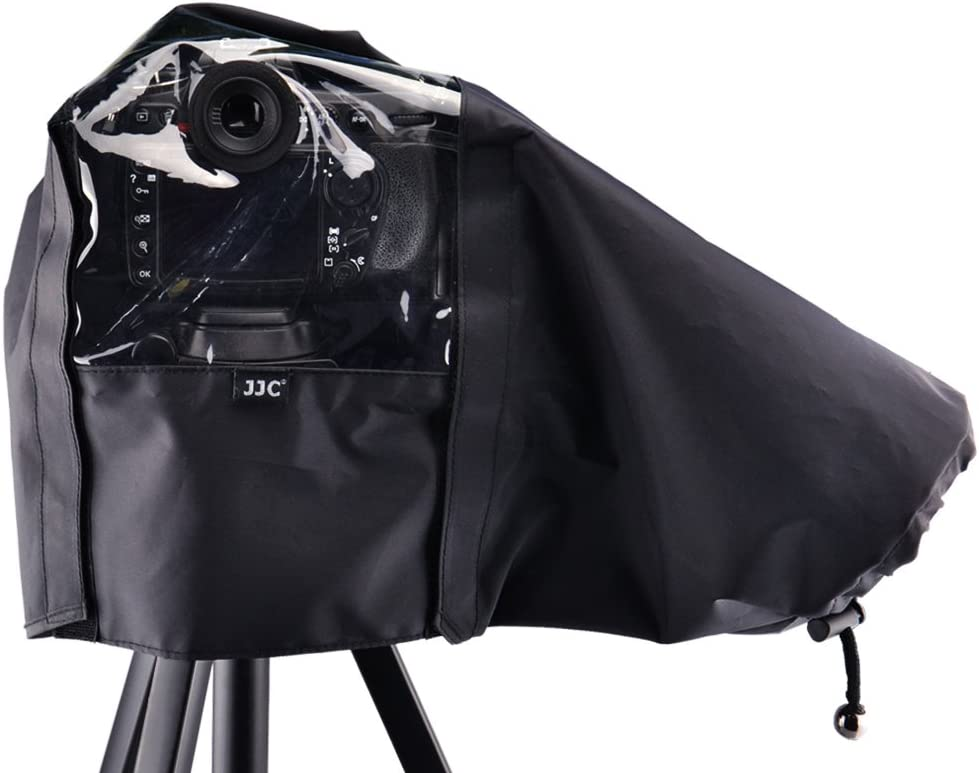 "JJC 22cm/8.6"" Waterproof Nylon Camera Rain Coat Rain Cover Poncho for Canon EOS 5D 5DM2 80D 77D 70D T7i T6i T6s T6 T5i T5 T4i T3i"