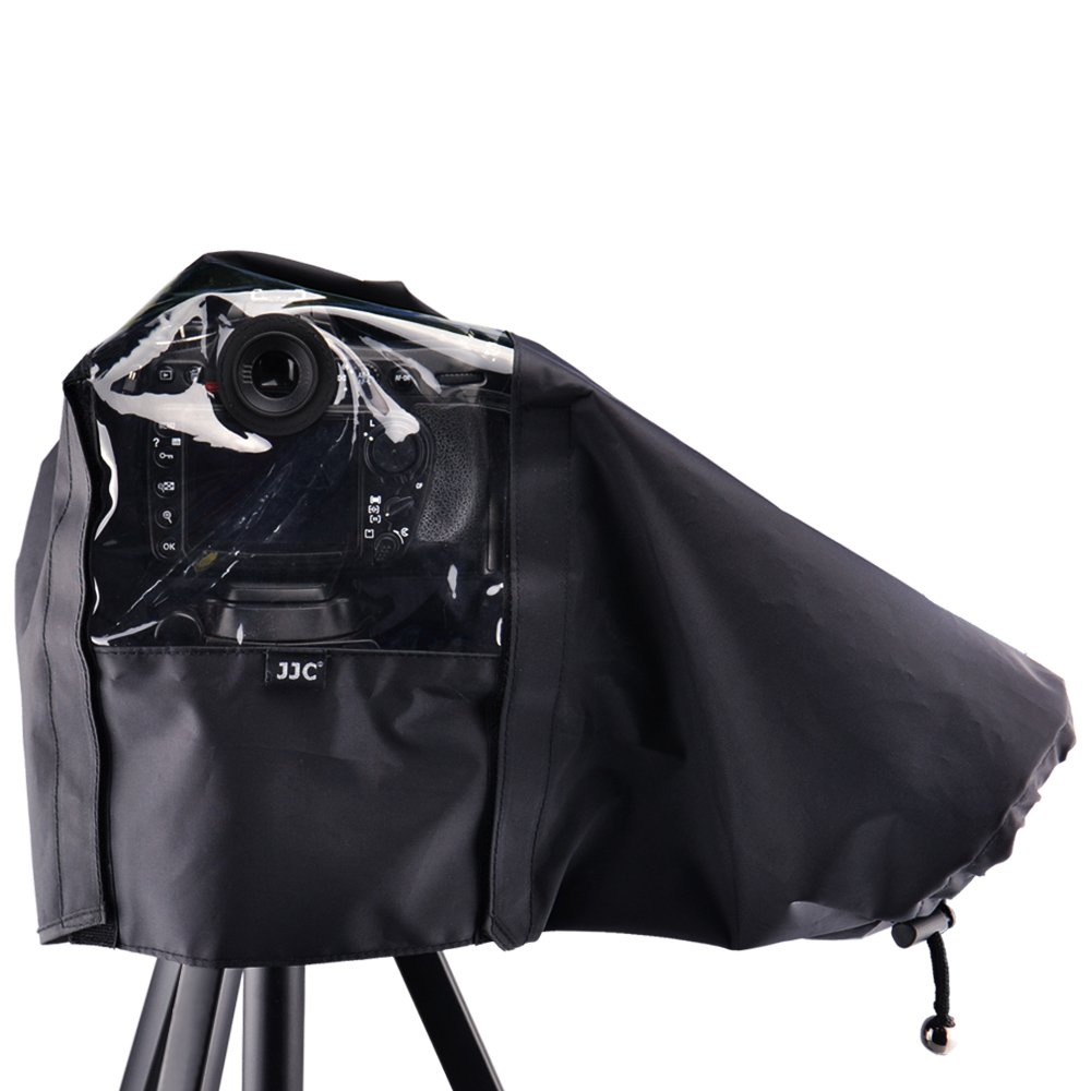 JJC 22cm//8.6 Waterproof Nylon Camera Rain Coat Rain Cover Poncho for Canon EOS-1D C EOS-1D X EOS-1D Mark III EOS-1Ds Mark III EOS-1D Mark IV EOS 5D Mark III 7D 7D Mark II