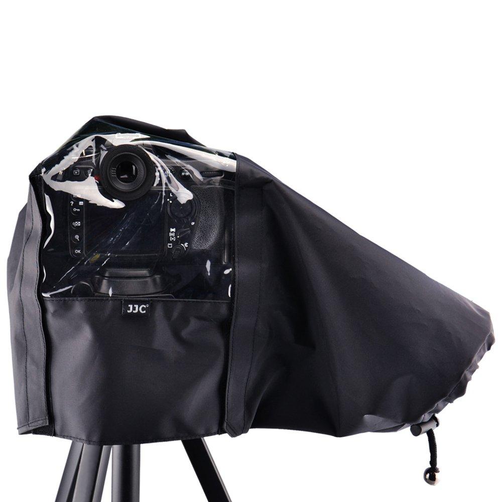 JJC 22cm/8.6'' Waterproof Nylon Rain Coat Cover Poncho for Nikon D750 D610 D600 D7500 D7200 D7100 D7000 D5600 D5500 D5300 D3400 D3300 D3200 DSLR Camera