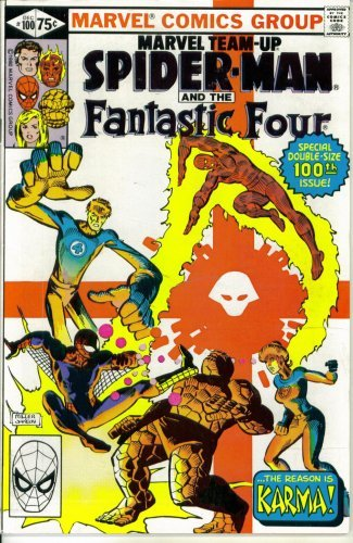 "Marvel Team-Up #100 : Featuring Spider-Man and the Fantastic Four in ""Introducing Karma"" (Marvel Comics)"