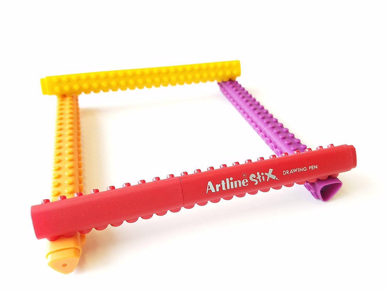 Artline Stix Brush Markers Assorted Color Set of 20 Etx-F//20WK