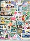 Lot of 100 different MINT US Postage Stamps, Vintage Packet MNH unused by USPS