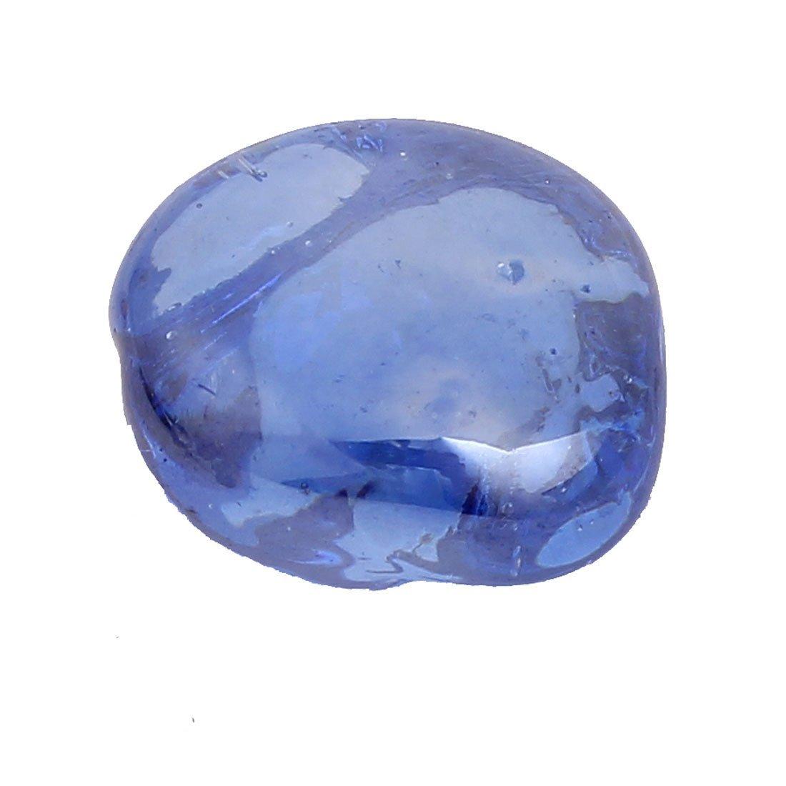 Amazon.com : eDealMax Los cristales del acuario Goldfish Bowl Con textura de Piedra decoración Azul claro : Pet Supplies