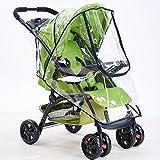 Umlife Waterproof Baby Trend Umbrella Stroller RainSeatCover Universal Rain Cover Dust Sun Wind Shield for Stroller Accessories Pushchairs Buggy
