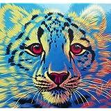 Schimmel Glow in The Dark Snow Leopard 550 Piece Jigsaw Puzzle