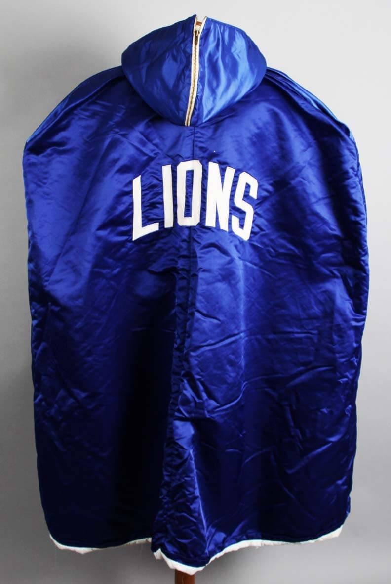 hot sales 6e393 f1eb8 1970's Detroit Lions Game-Worn Sideline Cape - COA at ...