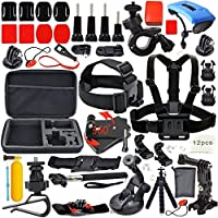 YFY 26-In-1 Basic Outdoor Sports Accessories Kit for GoPro Hero Cameras,SJ Cam, Xiaomi Yi,Sport Acion Camera