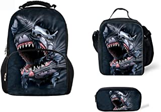 CHAQLIN Cartable Noir Shark-1 One_Size