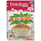 Freedom Foods TropicO's Breakfast Cereal - Allergen Friendly - BULK CASE: 5 X 10oz Boxes