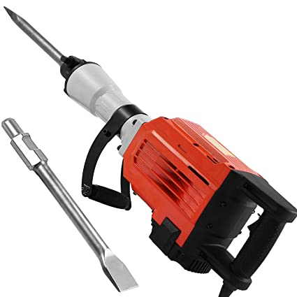 LOVSHARE W Electric Demolition Hammer Heavy Duty Concrete - Best demolition hammer for tile removal