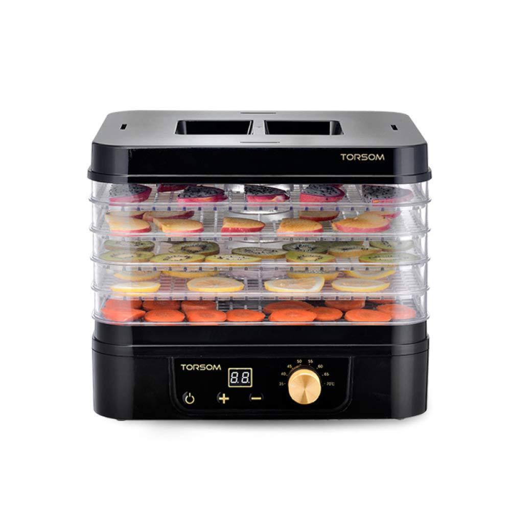 BBG Dried Fruit Machine, Food Dehydration Dryer, Household Fruit and Vegetable Meat Medicine Yogurt Food Dryer, Dryer,Black,One Size