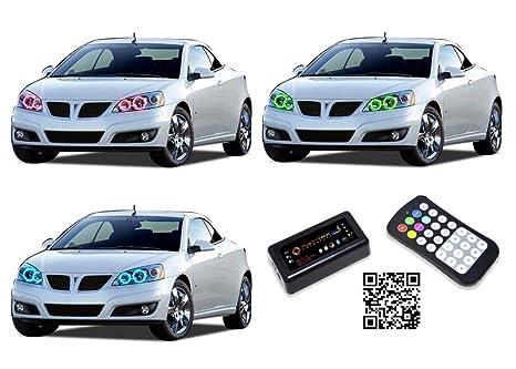 Amazon.com: Pontiac G6 LED Halo Kit De Faros 2005 – 2010 ...