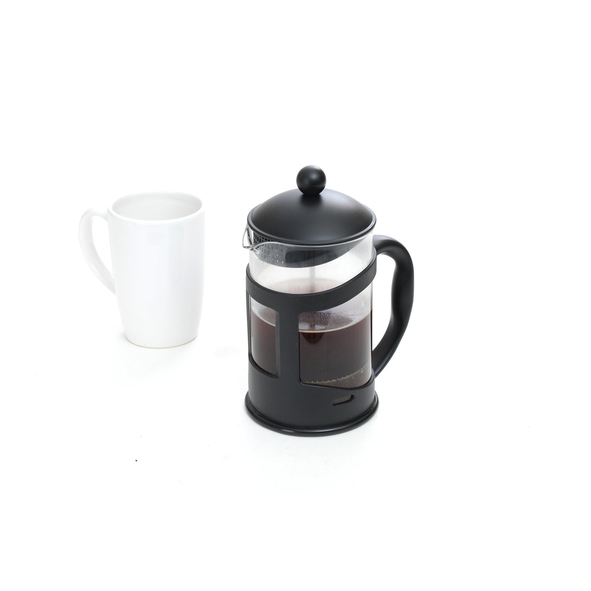 Mind Reader French Press Coffee & Tea Maker 27 oz, Glass by Mind Reader (Image #3)