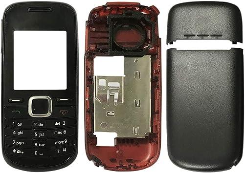 Repuestos para Smartphone Cubierta completa de la carcasa (cubierta frontal + bisel del marco intermedio + cubierta posterior de la batería + teclado) para Nokia 1661 Flex Cable (Color : Color1) : Amazon.es: Electrónica