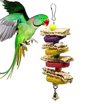 Liv-bird Juguete masticable con Calcio Natural para Jaula de ...