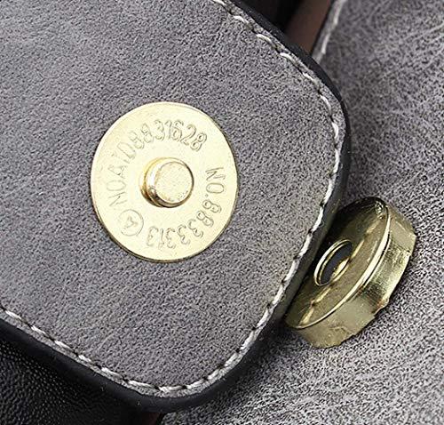 Paquet Diana Main Épaule Bag Femmes Sacs Sauvage Nouveau PU Couleur Grey Cuir Dames Solide De À Messenger Mode wIZaRqnZC8
