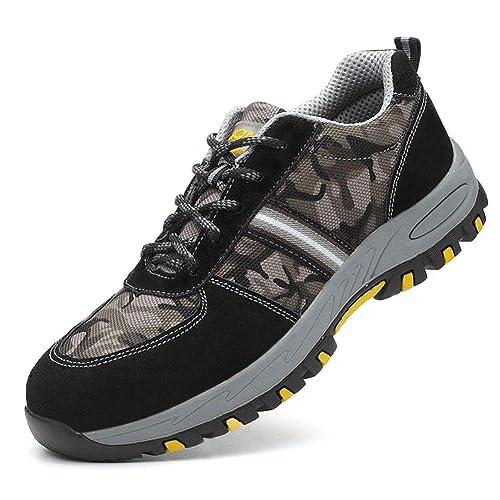 Tenthree Trabajo Sneakers Zapatos Hombres - Senderismo Botas Montaña Antideslizantes Aire Libre Deporte Zapatillas Trekking: Amazon.es: Zapatos y ...