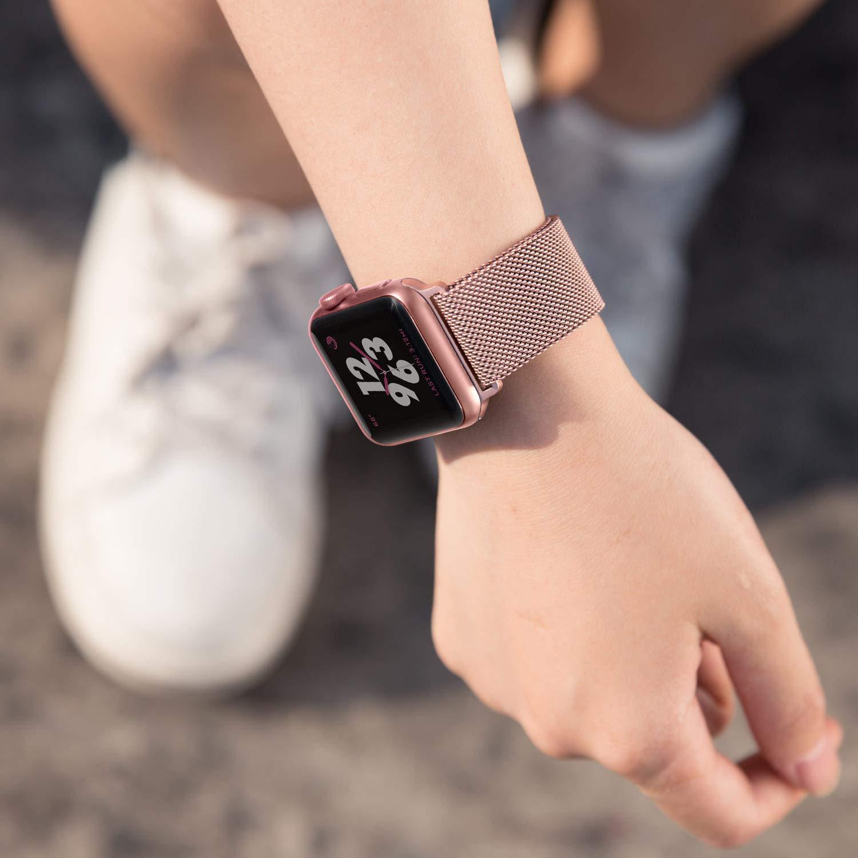 Apple Watch Rose Gold Milanese Loop
