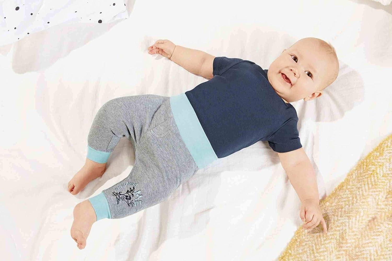 Looney Toone Bequme Baby Baumwoll Schlupfhose mit Extrabreitem Umschlagbund